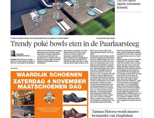 artikel opening Haarlems Dagblad